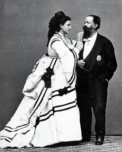 Розо Верчеллана с королем Виктором