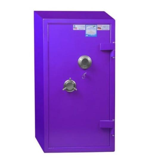 Банковский сейф БНС 3Т-2MKL фиолетовый