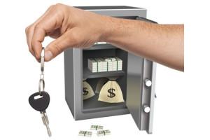 Зберігайте ключі якомога далі від сейфа, коханців і дітей