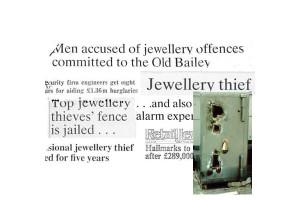Осведомитель спасает сейфы ювелиров Великобритании