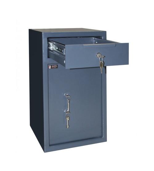Сейф для депонирования RD.60.K.K с ящиком для скрытого вброса купюр