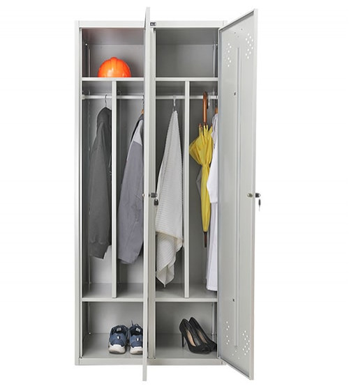 Шкаф для раздевалки Практик LS-21-80 D