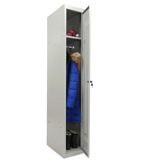 Шкаф для раздевалки Практик ML 11-30 (базовый модуль)