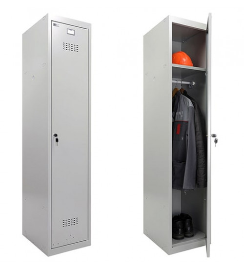 Шкаф для раздевалки Практик ML 11-40 (базовый модуль)