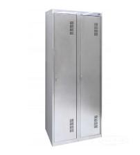 Хозяйственный шкаф для переодевания ШМХНж-400/2