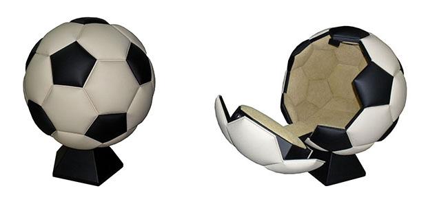 Сейф на заказ в виде футбольного мяча